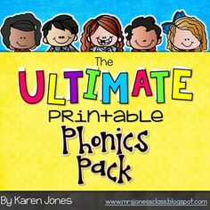 One of TPT's top rated phonics resources! This pack contains over 80 pages of printable phonics activities that are ready-to-use! No prep work required, just print and copy! Each page is a stand alone activity that your students can work on independently.
