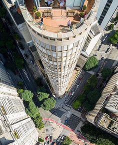 Edifício Italia by @do.alto #saopaulocity #edificioitalia #terracoitalia