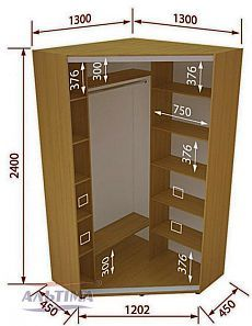 Corner closet design decor new ideas Furniture Plans, Diy Furniture, Furniture Design, Bedroom Closet Design, Closet Designs, Bedroom Wardrobe, School Locker Storage, Garderobe Design, Dressing Design
