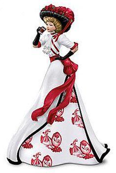 "Coca-Cola - ""Refreshing Beauty of Coca-Cola"" - So Refreshing Coca Cola Lady Figurine"