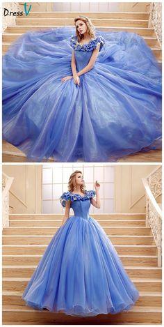 Cinderella Princess Ball Gown Sweety prom dress