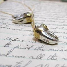 Molar Necklace, $85, now featured on Fab.