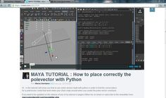 MAYA TUTORIAL : How to place correctly the polevector with Python PT2 on Vimeo
