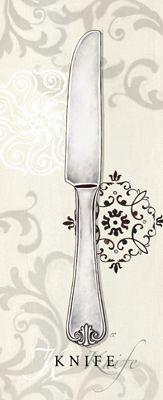 Dinnerware printable - knife.