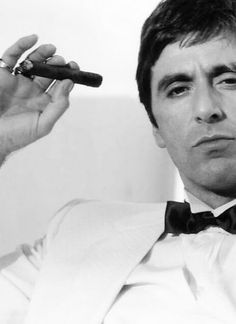 """Al Pacino as Tony Montana - """"Scarface"""", ° my Idol. Al Pacino, Don Corleone, By Any Means Necessary, Cinema, Fidel Castro, The Godfather, The Villain, Best Actor, Good Movies"""