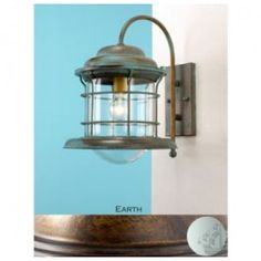Lustrarte 1401 One Light 15.8 Inch Tall Outdoor Wall Sconce from the Caravela Collection