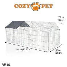 Cozy Pet Rabbit Run Play Pen Guinea Pig Playpen Chicken Puppy Cage Hutch RR10 | eBay Guinea Pig Run, Guinea Pig Hutch, Rabbit Run, Pet Rabbit, Puppy Cage, Tortoise Table, Reptile House, Dog Playpen, Play Pen