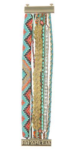 Brazilian bracelet HIPANEMA BAHIA Tribal Jewelry, Diy Jewelry, Handmade Jewelry, Jewelry Making, Jewellery, Arm Candy Bracelets, Fashion Bracelets, Jewelry Bracelets, Surf Accessories