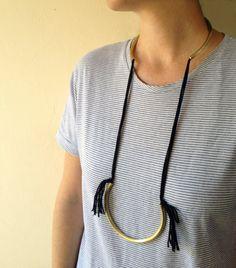 Tassel Necklaces  Open Choker Necklace  Open от MERCeJewelry