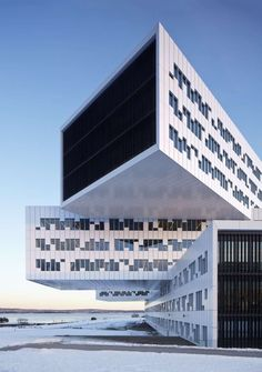 Hangin' Out: 7 Can't-Miss Cantilevered Commercial Buildings - Architizer