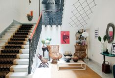 Capri Taberio Palace, Capri, Italy. Lovely interior/living room color scheme and structure...