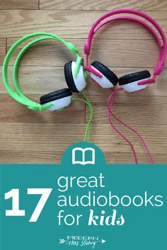 There's thousands of great audiobooks for kids, but this is a less overwhelming list to get started with! ;-)