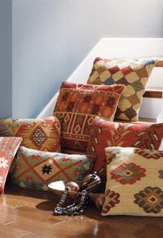 Kilim Indoor Throw Pillows.