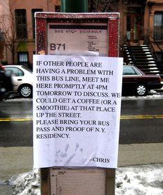 Bus stop original