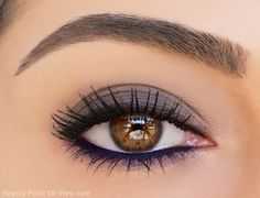 """ – Jim Rohn Eye Makeup – 20 idées de maquillages pour sublimer les yeux marrons : prune mat – Health & Beauty, Makeup, Eyes Source by Cute Eye Makeup, Makeup For Brown Eyes, Love Makeup, Skin Makeup, Makeup Inspo, Makeup Inspiration, Makeup Eyebrows, Pretty Makeup, Simple Makeup"