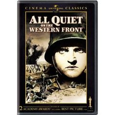 """""""All Quiet on the Western Front"""" starring Lew Ayres, Louis Wolheim, John Wray, and Arnold Lucy (1930)"""