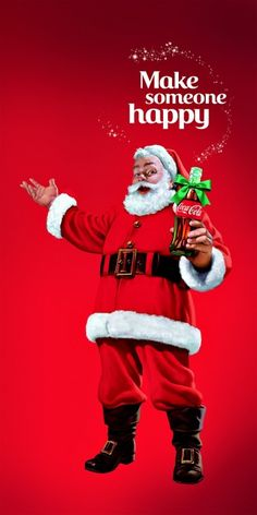 Coca Cola Santa -2014 - Make Someone Happy