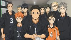 If Haikyuu teams had theme songs Haikyuu Karasuno, Haikyuu Anime, Nishinoya Yuu, Me Anime, Manga Anime, Manga Girl, Otaku Anime, Anime Girls