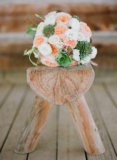 Photography: Brandon Chesbro - brandonchesbro.com Read More: http://www.stylemepretty.com/2014/10/29/woodland-tennessee-wedding-with-rustic-elegance/