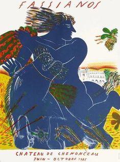 Les Abeilles D'Un Été - Vert Limited Edition by Alexandre Fassianos | Art.com Cool Artwork, Framed Artwork, Greek Design, Greek Art, Linocut Prints, Find Art, Original Art, Artsy, Drawings
