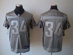 Nike Raiders  34 Bo Jackson Grey Shadow Men s Stitched NFL Elite Jersey Bo  Jackson 9f89e79ca