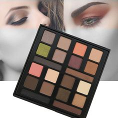 Beauty 20 Colors Shimmer Matte Eye Shadow Makeup Palette Earth Warm Eyeshadow Natural Make Up Cosmetics