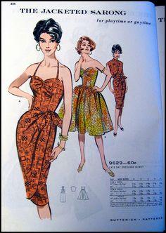 Vintage 1961 Butterick Sewing Pattern by FarfallaDesignStudio