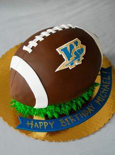 Go Blue Go ! The Winnipeg Blue Bombers Football Cake CFL Winnipeg  94df9297c