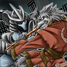 The Shredder vs. Splinter (Teenage Mutant Ninja Turtles)