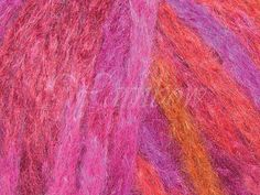 Rowan ::Kidsilk Amore mohair silk bulky yarn Flaming OFF! Rowan, Wool Yarn, Tie Dye Skirt, 50th, Silk, Silk Sarees