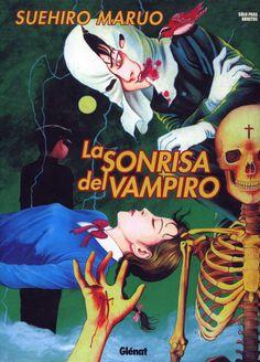 Libro Cómic La Sonrisa del Vampiro. Suehiro Maruo