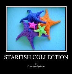 Starfish Crochet Patterns (pay $6.85)