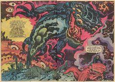 Devil Dinosaur #04 by Jack Kirby by Derek Langille, via Flickr