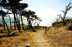 HIKE LAND'S END One of the best hikes in San Francisco takes you along the Land's End Coastal Trail.