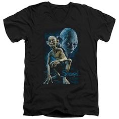 Lord Of The Rings : Smeagol / Gollum V-Neck T Shirt