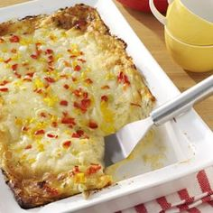 Cheese and Crab Brunch Bake