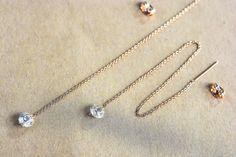Boucles d'oreilles pendantes et crystal par Xusflu sur Etsy Arrow Necklace, Diamond, Etsy, Jewelry, Drop Earring, Unique Jewelry, Boucle D'oreille, Jewlery, Jewerly