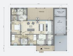 Bungalows, Beach House, House Plans, Buildings, Lego, Floor Plans, Exterior, Flooring, How To Plan