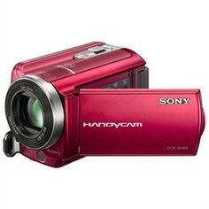 Sony Handycam DCR-SR68 Digital Camcorder - 2.7 - Touchscreen LCD - CCD - Red #UltraBookStyle