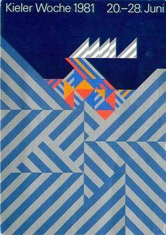 Kieler Woche 1981, Geometric Pattern