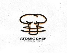 This was cool how they made the mushroom cloud look like a chef hat and works well with the name.