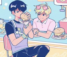 Boyfriend Goals, Boyfriend Girlfriend, Manhwa, Dibujos Dark, Ship Drawing, Online Comics, Cute Gay, Animes Wallpapers, Webtoon