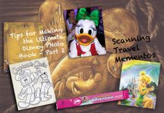 DIY Disney Photo Book Tips