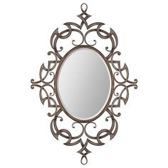 Ren-Wil - Toulouse Mirror - MT1197 - Home Depot Canada - Powder Room