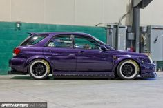 Hate to say it, but purple looks killer on the bugeye wagon...