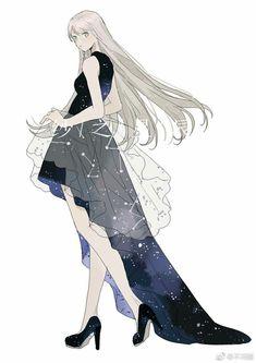 Fashion Drawing Ideas Art Ideas For 2019 Source by genieyui drawing Art Anime, Chica Anime Manga, Anime Art Girl, Kawaii Anime, Anime Girls, Anime Lindo, Anime Dress, Anime Princess, Beautiful Anime Girl