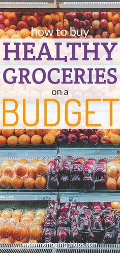 Cheap, Healthy Grocery List Are you looking for ways to stretch your budget, but still be able to make healthy food choices? Learn how with these tips on how to save money with these frugal meal options and shopping list ingredients. Frugal Meals, Cheap Meals, Budget Meals, Food Budget, Inexpensive Meals, Healthy Groceries, Healthy Shopping, Healthy Food Choices, Healthy Recipes