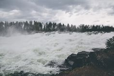 #Storforsen! *Bildbomb* #visitsweden #nature #visitnorrbotten