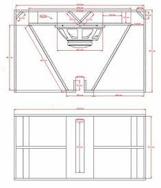 subwoofer box design for 12 inch 12 Subwoofer Box, Subwoofer Box Design, Speaker Box Design, Subwoofer Speaker, High End Speakers, Diy Speakers, Horn Speakers, Plan Design, Layout Design