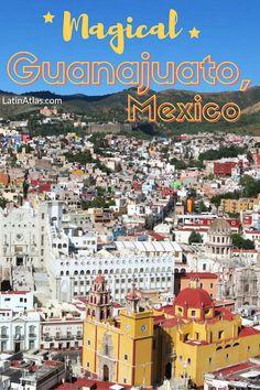 Colonial Mexico: What to do in Guanajuato via @https://www.pinterest.com/latinatlas/